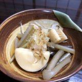 ツワブキを採って、アク抜きして、0円の煮物になるまで。