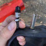 (チューブ編)自転車のバルブが壊れた!自分でできる、ママチャリ後輪の取り外しとチューブの交換